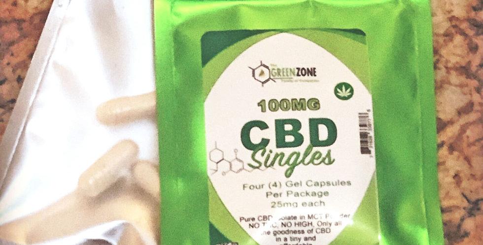 CBD Gelatin capsules Singles