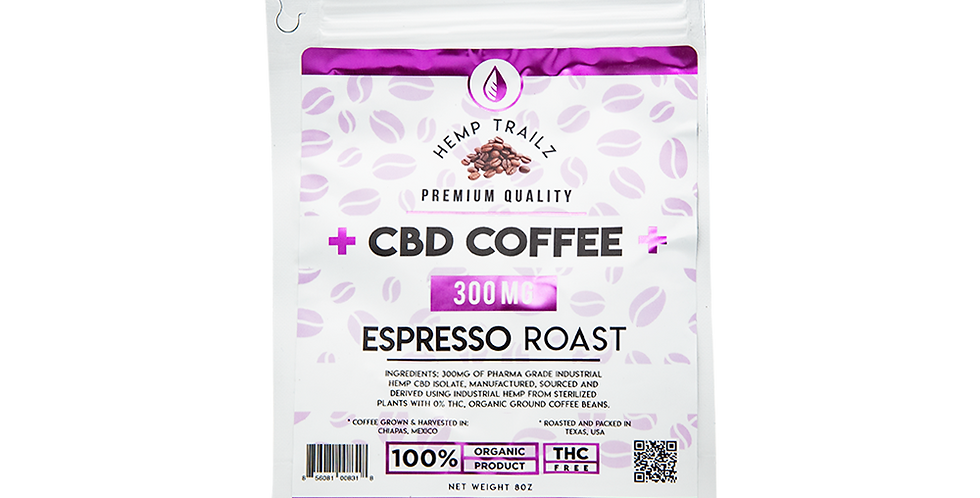 Espresso Roast CBD Coffee