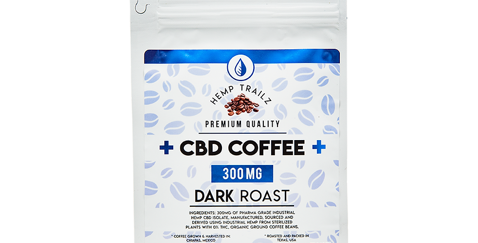 Dark Roast CBD Coffee