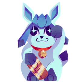 Lucky Glaceon