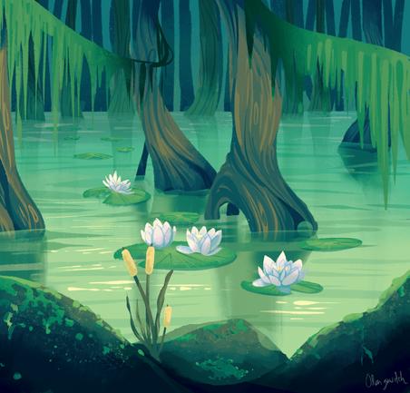 Lilypad swamp