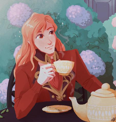 Tea Time with Ferdinand Von Aegir