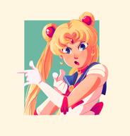 On behalf of the moon, I'll punish you! (Sailor Moon)