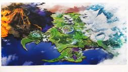 世界地図写真