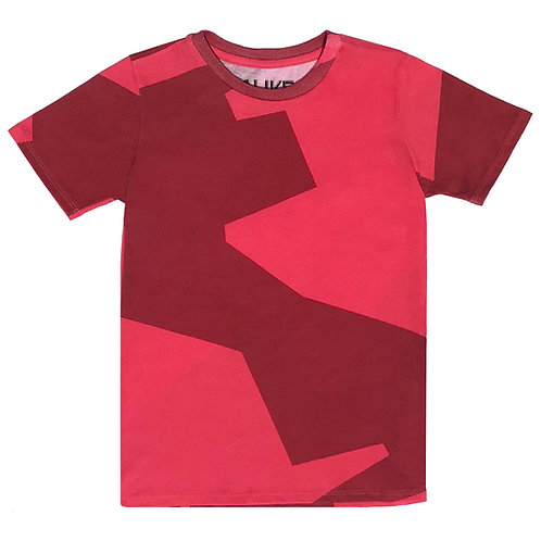 Red Abstract T-shirt