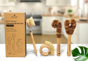 Ecozoi Plant Based Cleaning Brush Set