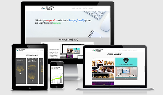 Responsive websites , Mobile friendly websites , Budget friendly websites