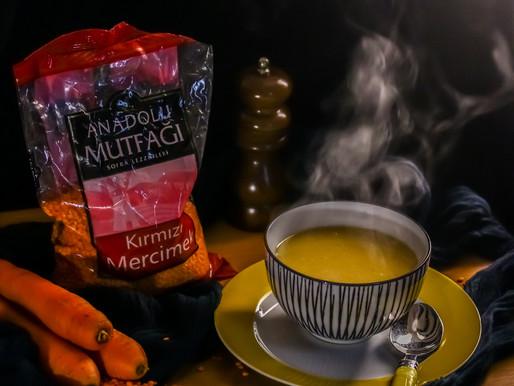 Турецкая классика: чечевичный суп/ mercimek çorbası