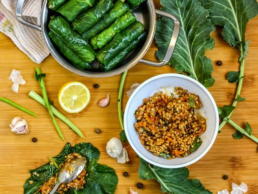 Фаршируй как турецкоподданный: начинка из пряного риса для долмы/сармы