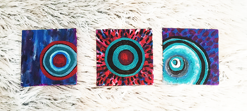 Spirit Paintings 7, 8, & 9 (Set)