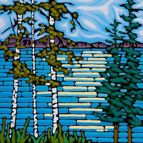 Birch Lake 12x12 PRINT