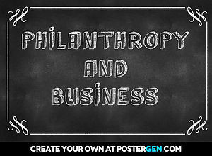 Philanthropy – Insights from a CEO Round table Discussion  February 24, 2017   Amanda Sartor