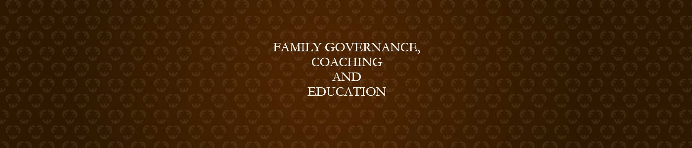Family Governance, Coaching