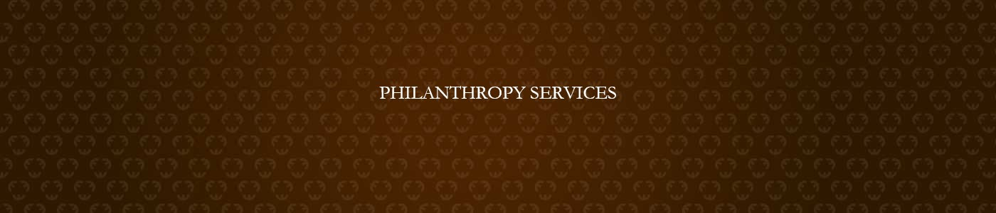 Philanthropic Services