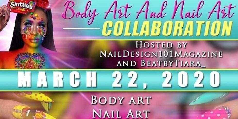 Nail Art and Body Art Collaboration 2020