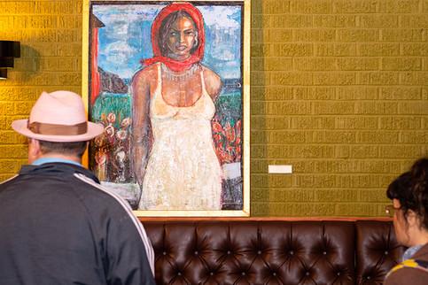 """Roadside"" Painting by New Orleans Impressionist Danny Jupiter"