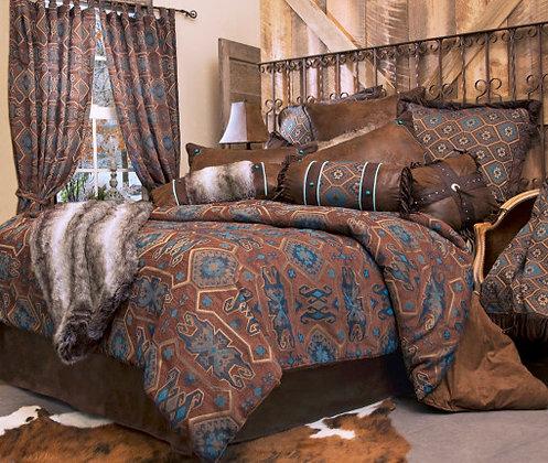 Saguaro Desert Bed Set, Queen