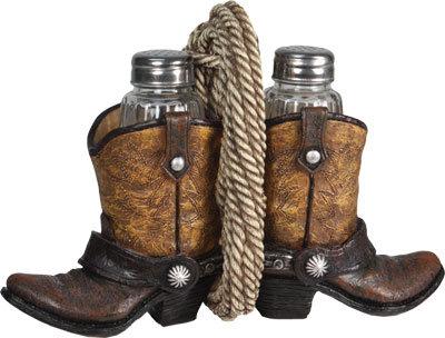 Cowboy Boot Salt & Pepper Set