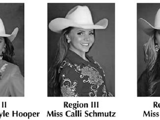 2017 Miss THSRA Contestants