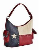 Texas Flag Bucket Bag