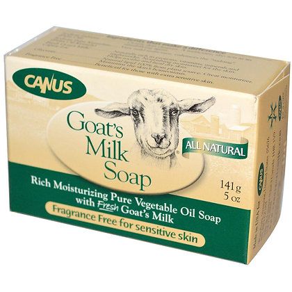 Canus Goats Milk soap Unscented