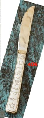 Brands & Rope Steak Knives Set/4