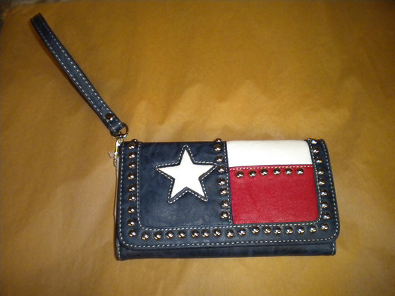 Texas Flag Wallet