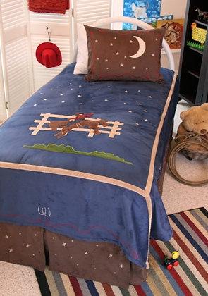 JCB Cowboy Bedding Set Twin