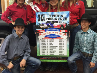 HENSON FAMILY DEALERSHIPS AND TEXAS HIGH SCHOOL AND JUNIOR HIGH RODEO REVEALS 2017 GIVEAWAY TRUCK