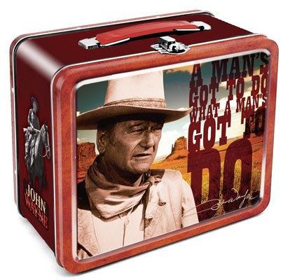 John Wayne Metal Lunch Box