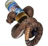 Rattlesnake Wine Bottle Holder