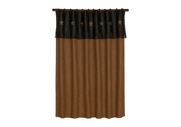 Laredo Shower Curtain, Mocha