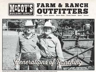 McCoy's Farm & Ranch: Generations of Ranching