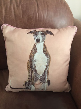 Whippet cushion