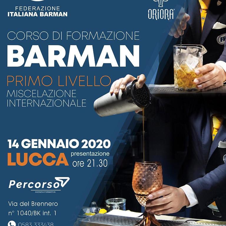 BARMAN - Primo Livello Miscelazione Internazionale