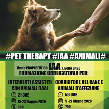 IAA- INTERVENTI ASSISTITI CON ANIMALI