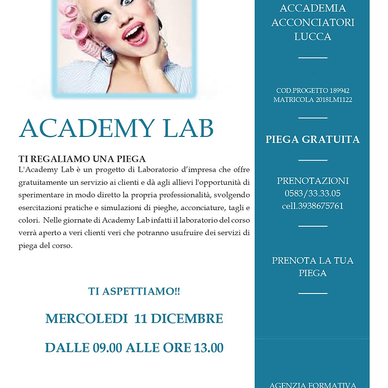 ACADEMY LAB LUCCA