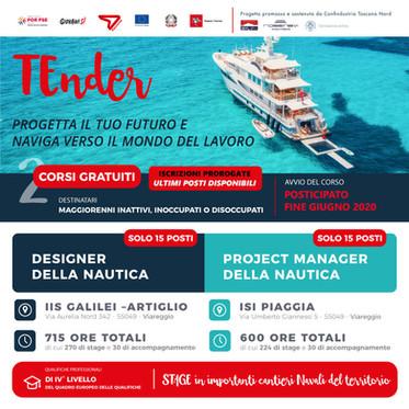 TENDER- Nautica nuovi corsi