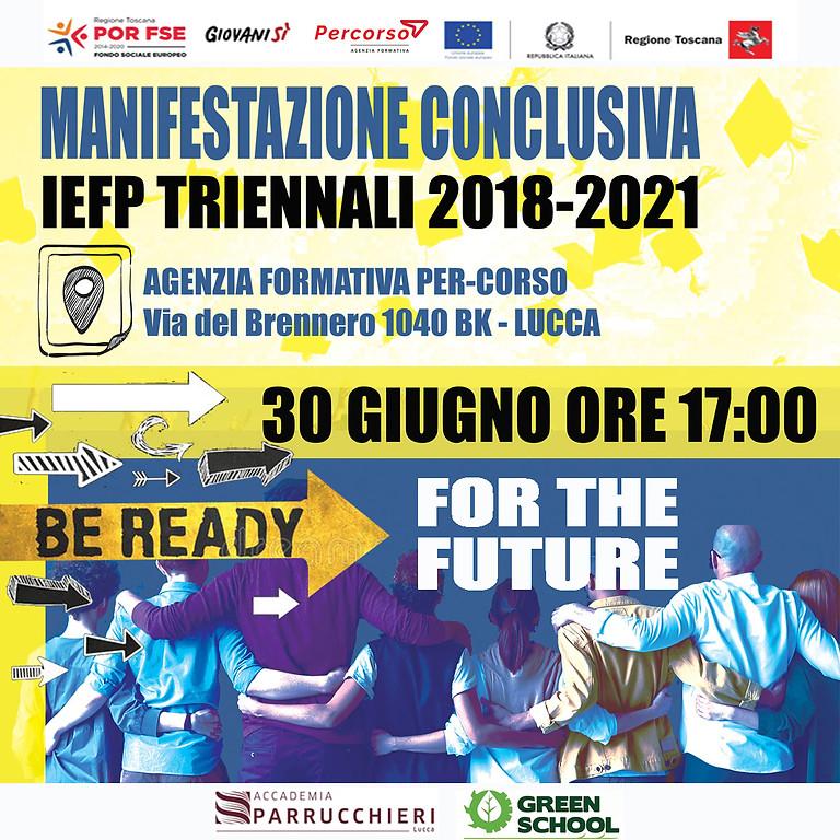 MANIFESTAZIONE CONCLUSIVA - IEFP 2018-2021
