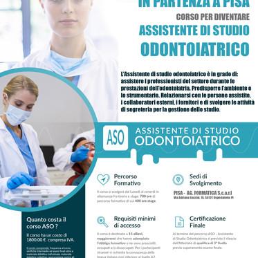 ASO PISA- Nuovo corso in avvio