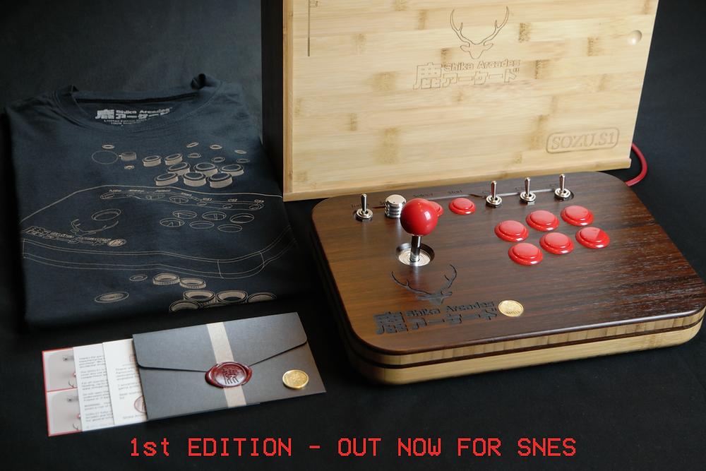 Shika Arcades Sozu.S1 First Edition Package