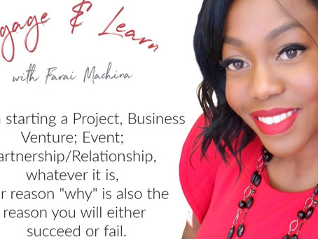 "Your ""WHY"" in Business Matters!"