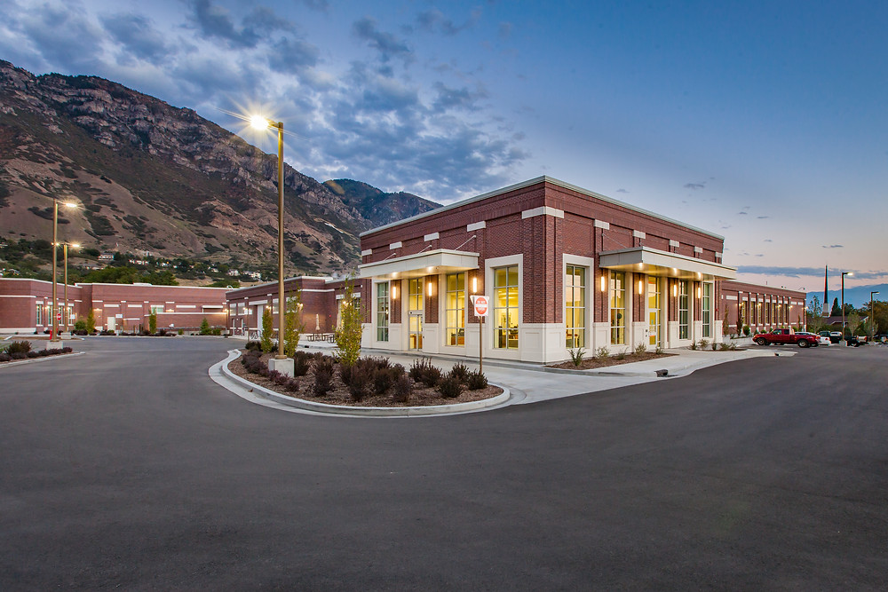 To respond to the growing needs of the BYU campus and the adjacent Missionary Training Center (equaling 33,000 people), BYU hired Zwick Construction to build a new laundry, maintenance, and emergency building.