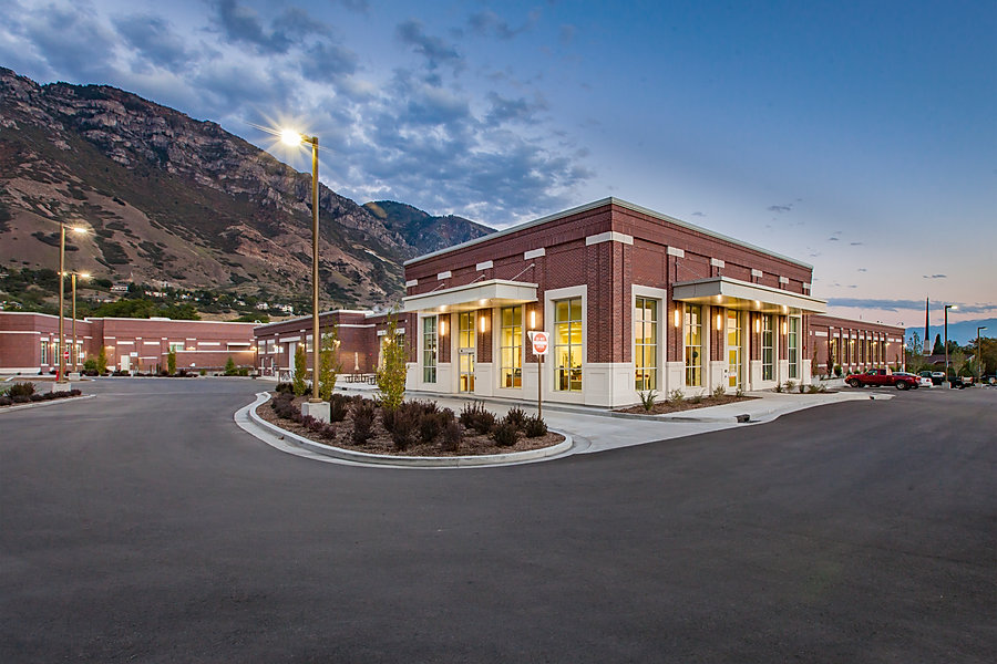 The Brigham Young University Laundry, Maintenance, and Emergency Building is just one of many educational construction projects completed by Zwick Construction in Utah and California.