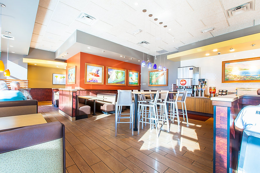 The Habit Burger is just one of many restaurant construction projects built by Zwick Construction.