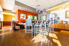 This Habit Burger is one of the many restaurant construction projects completed by Zwick Construction.