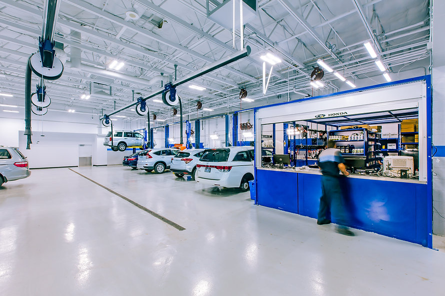 Zwick Construction has completed many transportation/warehouse projects throughout states like Utah, California, Nevada, and Arizona, including the Performance Honda.