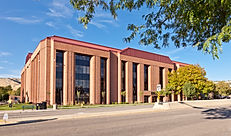 The West Office Building is just one of many office construction projects completed by Zwick Construction.