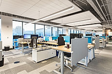 Zwick Construction has completed many office construction projects throughout states like Utah, California, Nevada, and Arizona, such as the Bonneville Real Estate Capital.