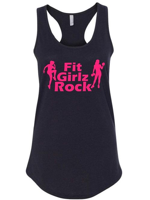 Fit Girlz Rock Razor Back